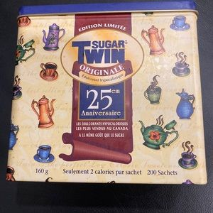 Collector Tin Twin Sugar